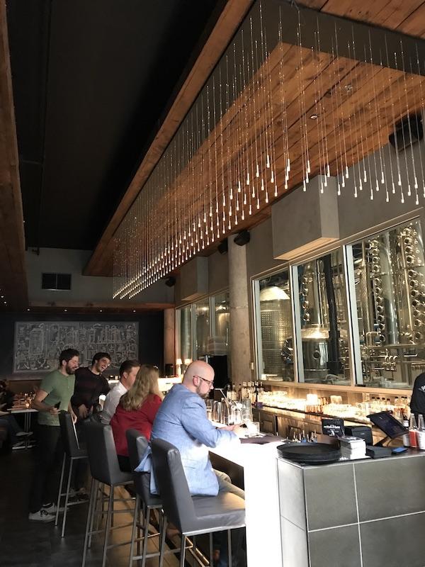 Bar at the CH Distillery