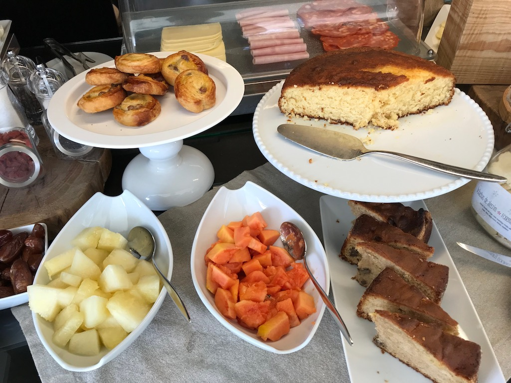 Breakfast at Cooking and Nature Emotional Hotel Alvados Portugal