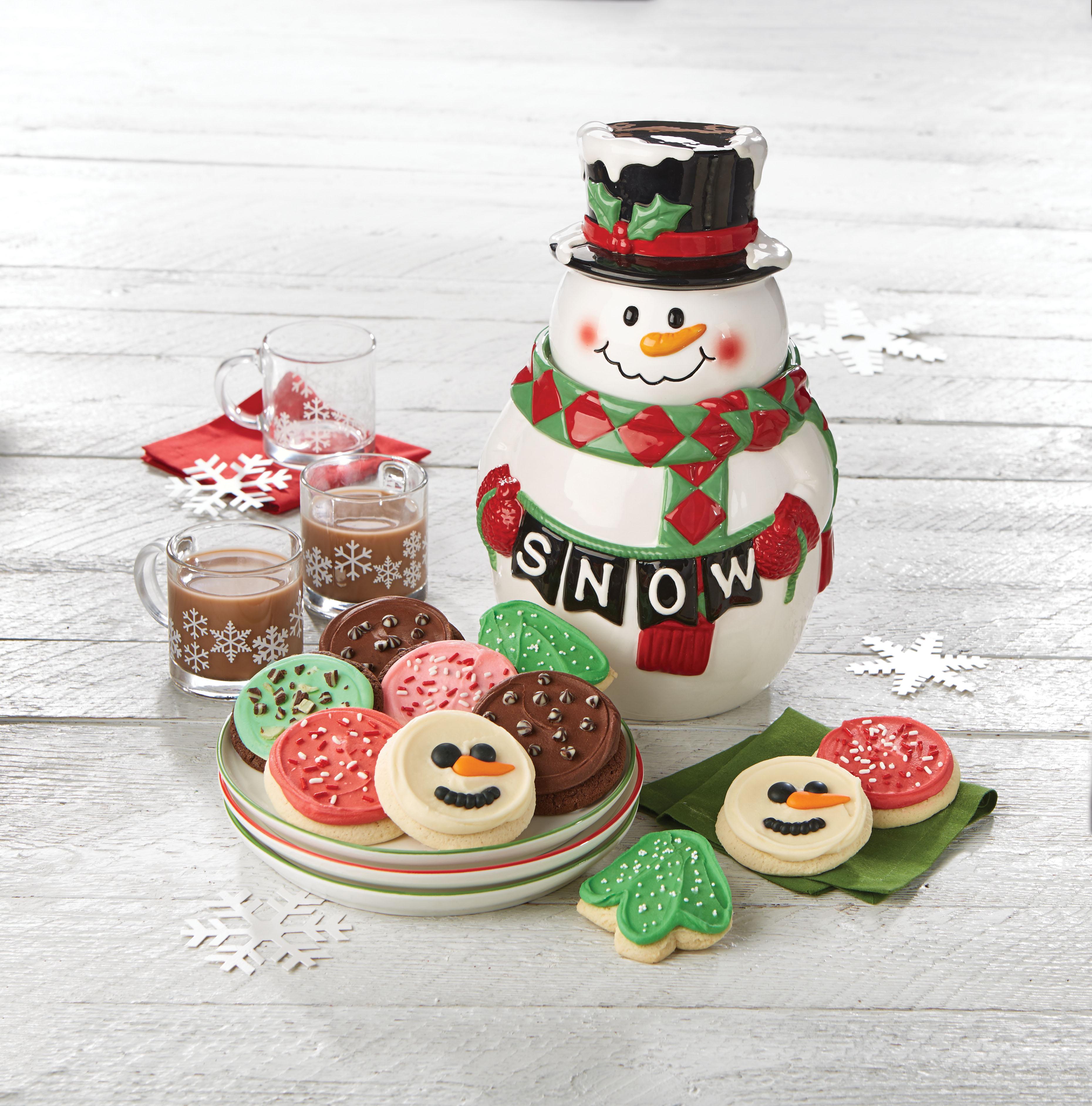 Cheryl's Cookies_Collector's Edition Snowman Cookie Jar