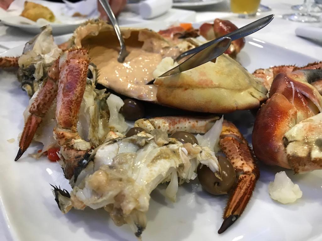 Crab Appetizer Portugal