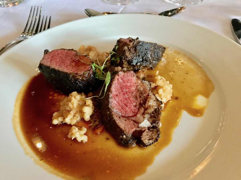 Duo of Local Lamb at the Google Luncheon
