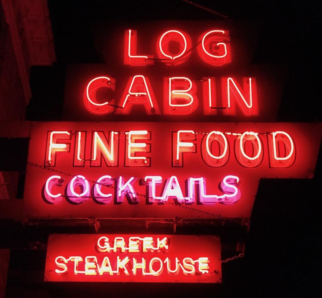 Log Cabin Greek Steakhouse Galena Illinois