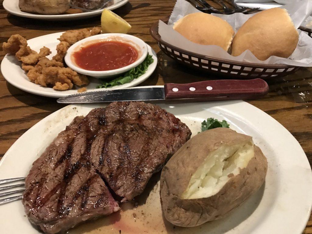 Steak Dinner at Cattlemen's Steak House OKC