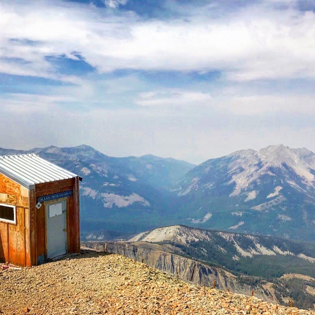 Summit of Lone Peak Big Sky Montana
