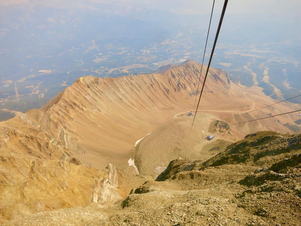 Top of Lone Peak Big Sky Resort