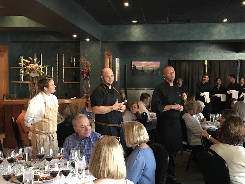 Vine and Dine Event at Big Sky Resort Montana