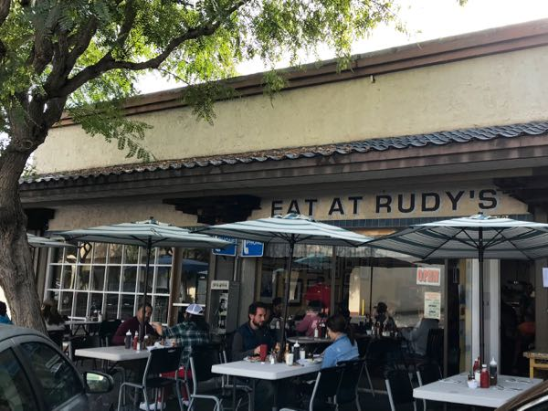 Eat at Rudys Torrance CA