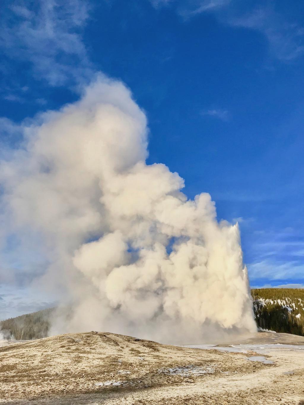 Old Faithful Yellowstone NPS