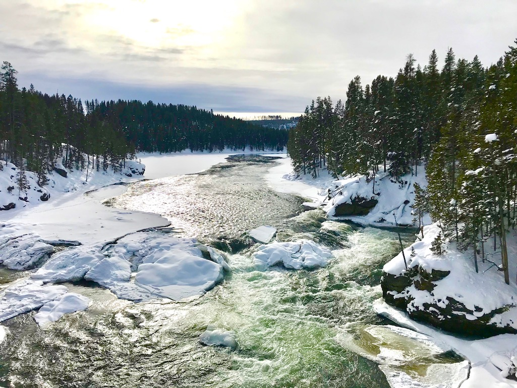 Road trip stops in Yellowstone NPS